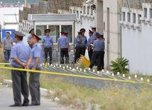 Kyrgizsko, polícia, atentát