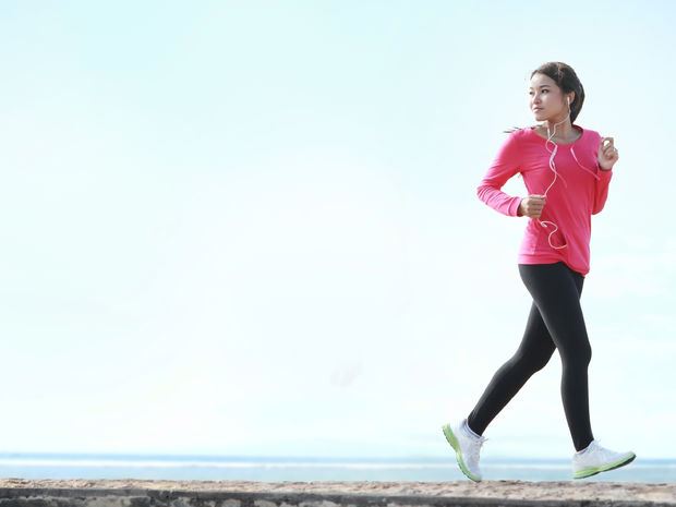 žena, beh, pohyb, cvičenie, zdravie