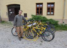 žltý bicykel, kežmarok