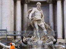 Taliansko, Rím, fontána di Trevi