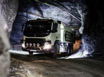 Volvo Trucks - autonómne riadenie v doloch