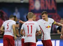 futbal, RB Lipsko, radosť