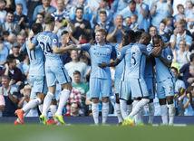 Manchester City, futbal, radosť