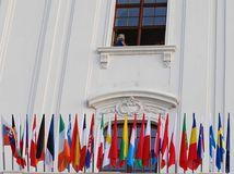 summit, bratislava, eú, vlajky