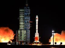 Čína, vesmírna stanica