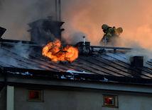 Štokholm, požiar