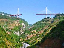 Beipanjiang - najvýšší most na svete