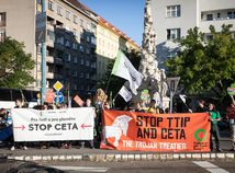 protest, stop ceta, protesty ttip