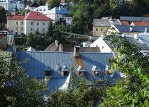 Banská Štiavnica, strechy