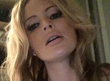 Ruská moderátorka a herečka Dana Borisovová.