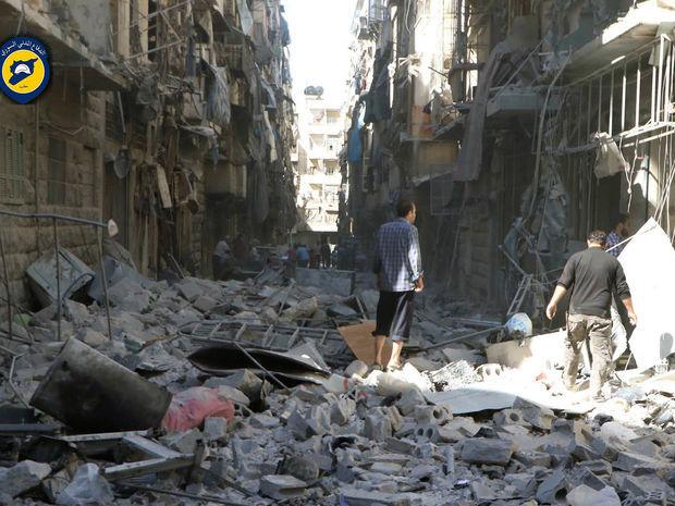 Sýria, Aleppo, výbuch, útok