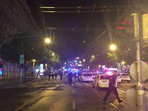výbuch, Budapešť