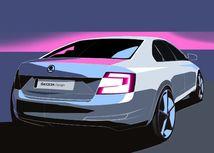 Škoda Octavia - skica