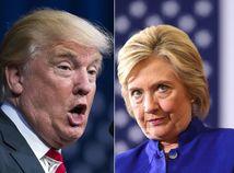 Trump, Clintonová