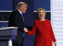 Clintonová, Trump, debata