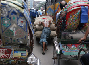 Dháka, Bangladéš, zápcha