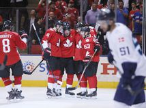 Kanada, hokej, radosť, Svetový pohár