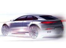 Porsche Cayenne Coupé - ilustrácia
