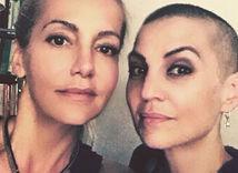 Speváčka Dara Rolins (vľavo) a jej manažérka Eva Skallová.
