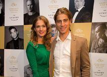 Cyklista Peter Sagan a jeho pôvabná manželka Katarína.