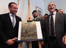 APTOPIX Italy Van Goghs Found