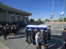Šimon Peres, Izrael, pohreb