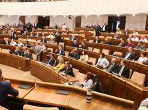 parlament, odvolavanie Fica, rokovacia sala, matovičovci,