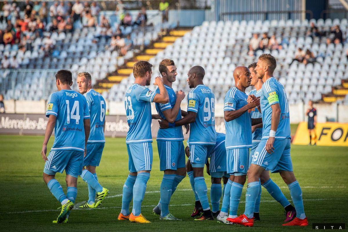 Slovan Bratislava - Michalovce.