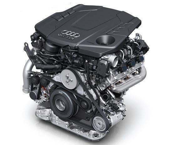 Pod kapotou bude vládnuť jednoznačne nafta. Najvýkonnejšiu verziu poháňa 6-valec 3,0 TDI s výkonom 210 kW.