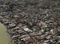 Hurikán Matthew, Haiti, hurikán, zničená krajina, materiálne škody, trosky, ruiny,