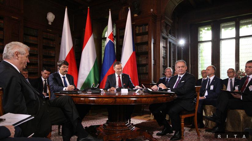 Kiska sa postavil proti prezidentom V4 - Domáce - Správy - Pravda.sk fd07b119117