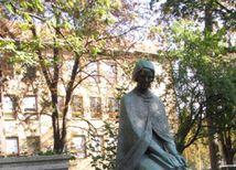 Božena Slančíková Timrava, Lučenec, socha