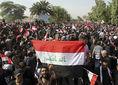Irak, Mosul, demonštrácia, protest, Bagdad,