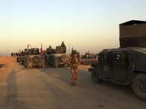 Irak, Mosul, armáda, vojaci