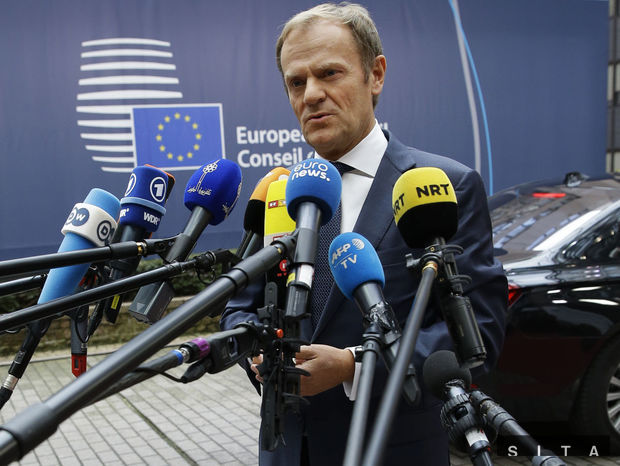 Donald Tusk, summit EU