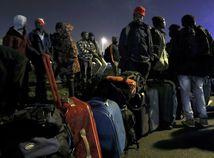 Calais, utečenecký tábor