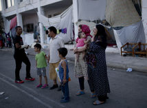 grécko, migranti, afgánci, utečenecký tábor
