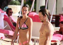 Mark Wahlberg a jeho manželka Rhea Durham