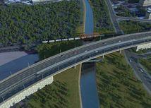 obchvat, Dunaj, cesta, most, diaľnica