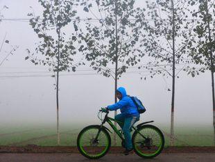 bicykel, cyklista, Číňan