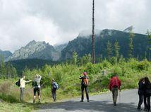 Tatry, turisti, príroda, hory