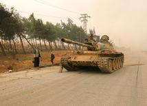 Aleppo, povstalci, Sýria