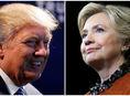 Donald Trump, Hillary Clinton, Hillary Clintonová, americké prezidentské voľby,