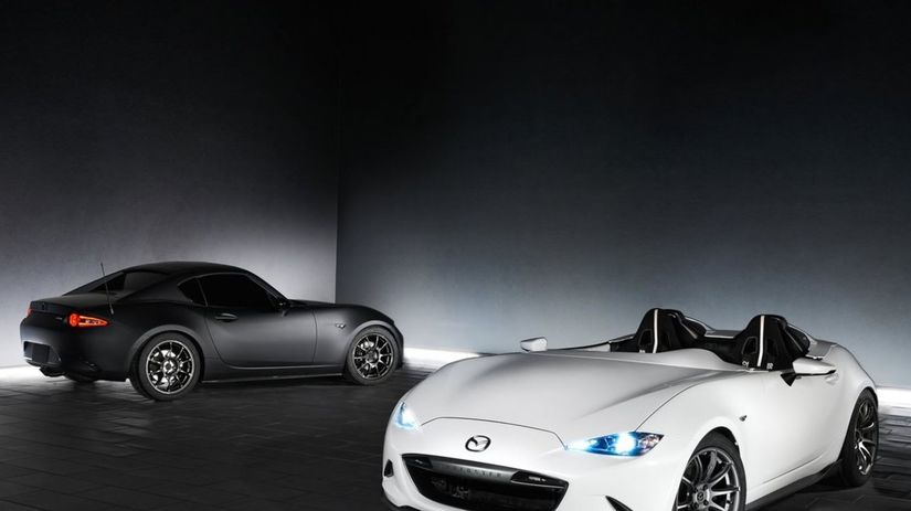Astonishing 2016 Mazda MX-5 Speedster Evolution Concept Gallery ...