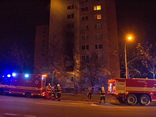 požiar, Dúbravka