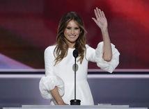 Rok 2016: Melania Trump