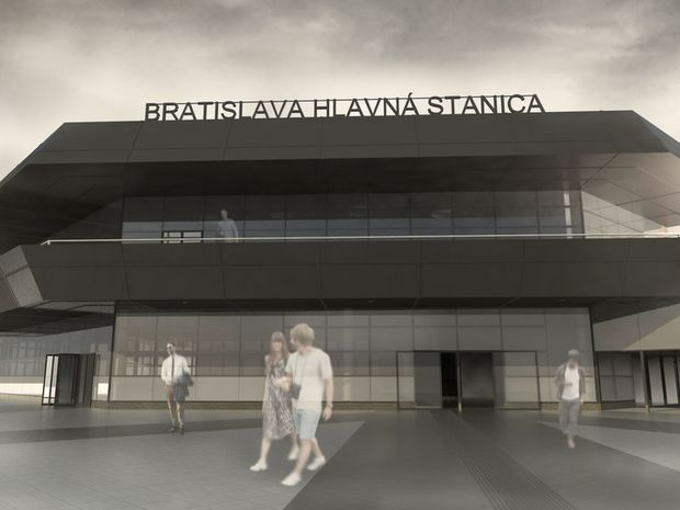 Návrh čiastočnej rekonštrukcie budovy Hlavnej stanice.