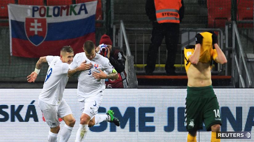 3061ff79e5662 Litvu zdolali jednoznačne 4:0 - Reprezentácia - Futbal - Šport - Pravda.sk