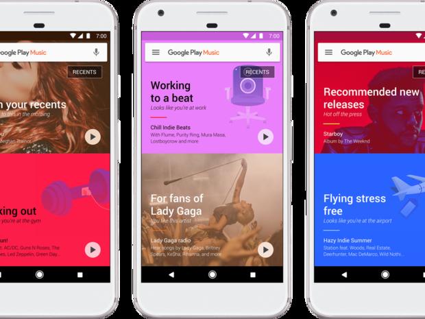 Google Play Music, Hudba Google Play, Google, hudobné predplatné