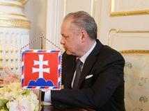 Danko, stretnutie s prezidentom, Kiska, prezidentský palác